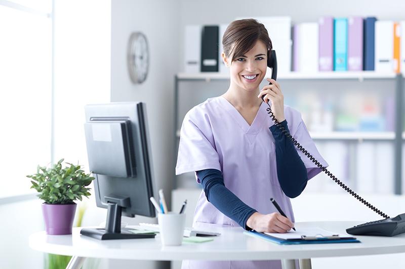 Arzt Website Anruf